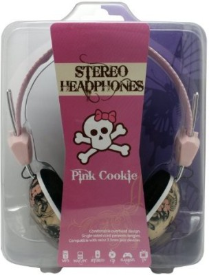 Dgl Pck-825-Bfy Hype Pink Cookie Butter Fly Headphones Headphones