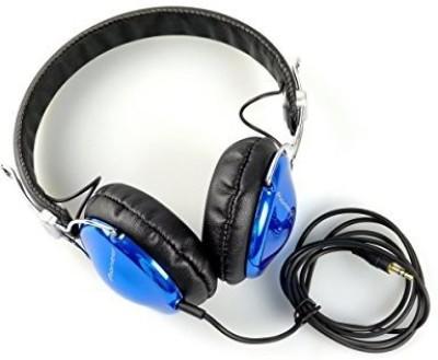 Pioneer Se-Mj151 Fully-Enclosed Dynamic Headphones - Blue Color Headphones(Light Blue)