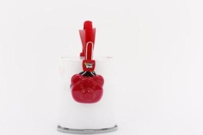 Sakar Gummy Bear Molded Headphones 12024 Headphones(Red)