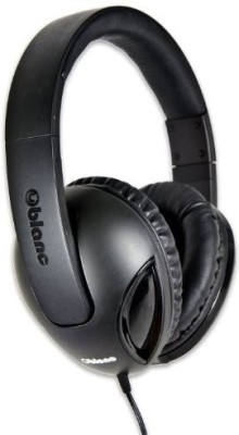 Oblanc Syba Og-Aud63038 Nc-1 Cobra Over-Ear Headphones With In-Line Microphone - Retail Packaging Headphones