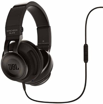 JBL Synchros Slate Powe Over-Ear Stereo Headphones, Black Headphones