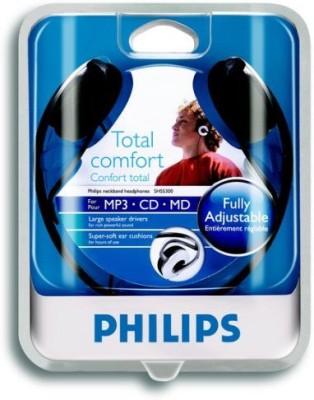 Philips Shs5300 Neckband Headphones Total Comfort Wired Headphones