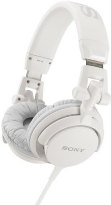 Sony Mdr-V55/Whi Dj Style Headphones Headphones