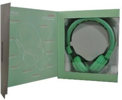 Audiology Au-350-Mnt Over-Ear Stereo Headphones For Mp3 Player, Ipods And Iphones (Mint) Headphones(Green)