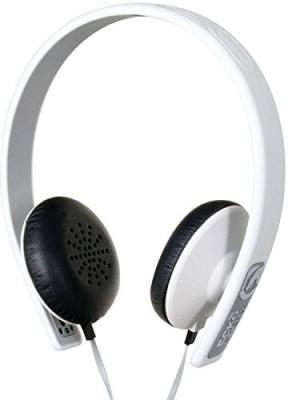Ecko Eku-Fsn-Wht Fusion Stereo Headphones With Inline Microphone And Controls Headphones