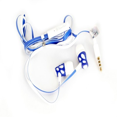 Signature VM-38 Handsfree With Bubbling Sound Wired Headphones(Blue, In the Ear)