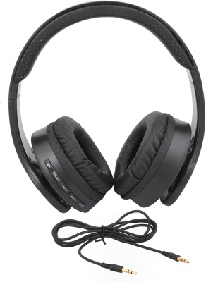 iNext IN 917 HP Blk Headphone Wired & Wireless bluetooth Headphones