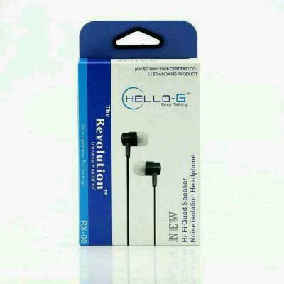 Hello-G Hellorx08 Hi-Fi Quad Speaker Wired Headphones
