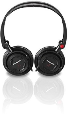 Panasonic Rp-Djs150M-K Foldz Collasible Travel Headphone Headphones(Black)