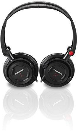 Panasonic Rp-Djs150M-K Foldz Collasible Travel Headphone Headphones(Black)