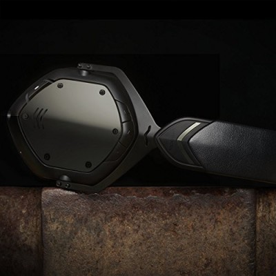 V-Moda Crossfade Wireless Over-Ear Headphone - Gunmetal Wired bluetooth Headphones