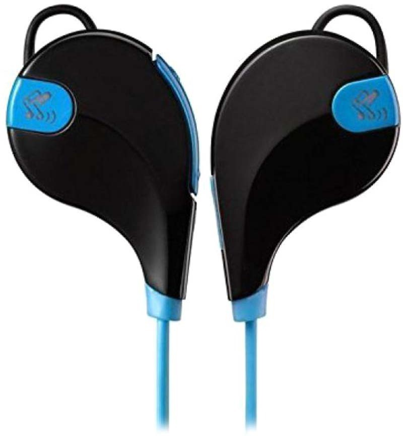 Diamoda QY7 Jogger bluetooth Headphones(Blue, On the Ear)