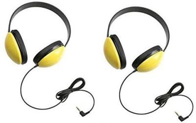 Focus Camera Califone 2800-Yl Listening First Headphones In (Set Of 2) Headphones