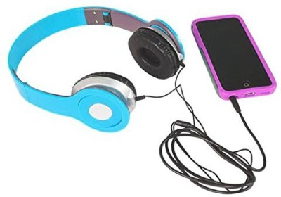 Rhode Island Novelty 6.7 Neon Blue Headphones (1 Per Order) Headphones