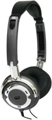 Ihip Ip-Popmetal-Bk 90 Degree Swivel Dj-Style Headphone Headphones