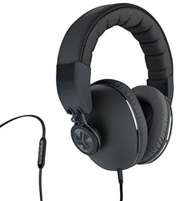 Jlab Bombora Over-Ear Headphones With Universal Mic, Matte /Gunmetal Headphones
