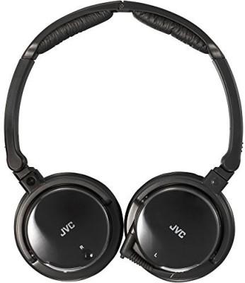 JVC Ha-Nc120 Noise-Canceling Headphones Headphones(Black)