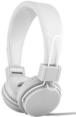 Polaroid Php8500Wh Neon Headphones With Mic, Foldable, Tangle-Proof, Compatible With All Devices Headphones