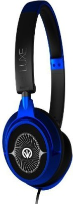 iFrogz Luxe Bud W/Mic Earbuds Headphones(Black)