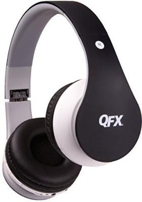 Qfx H-251Btblk/Bk Folding Bluetooth Stereo Headphones, Black Headphones