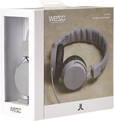 Wesc Unisex Pitston Street Headphones, Limestone Headphones