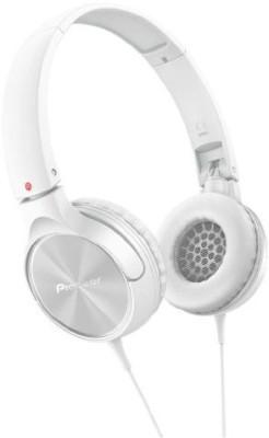 Pioneer Fully Enclosed Dynamic Headphones Se-Mj522-W () Headphones(White)