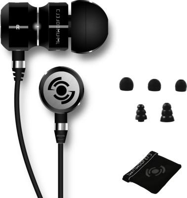 Tekfusion - Twinwoofers In-Ear Headphones Black Chrome Edition