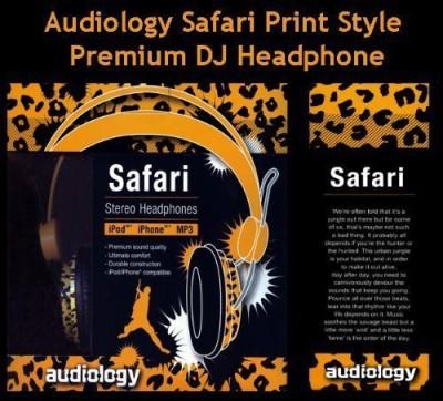 Audiology Safari Au-100Sf Over Ear Headphones Headphones