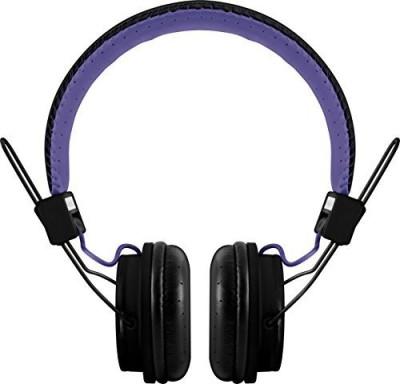 Polaroid Php8330Black/ Universal Foldable Hd Headphones With Mic, Black/ Headphones