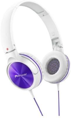 Pioneer Fully Enclosed Dynamic Headphones Se-Mj522-V () Headphones(White)