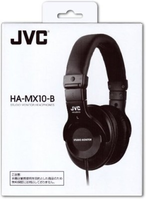 JVC Victor Studio Monitor Headphones | Ha-Mx10-B (Japanese Import) Headphones