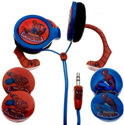 Nemo Digital Mvf10109Sm Spider-Man Wrap Around Headphones With Inter-Changeable Graphics (Discontinued By Manufacturer) Headphones
