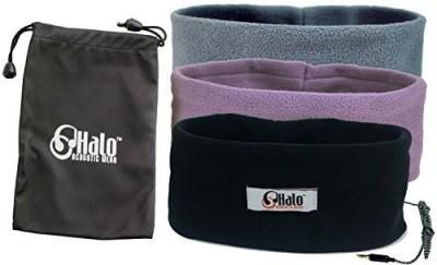 Halo Acoustic Wear Sleeping Headphones With Travel Bag - Ultra Thin Earphones - Most Comfortable Headphones For Sleeping - Perfect For Air Traveling Headphones