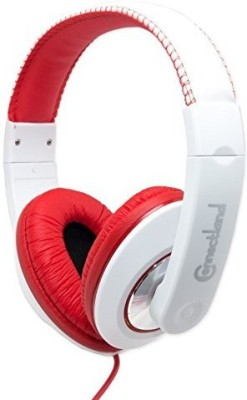 Syba Cl-Aud63080 Binaural Design Red / Headset With 40Mm Speaker At 20Hz - 20Khz Over Head On Ear Headphones