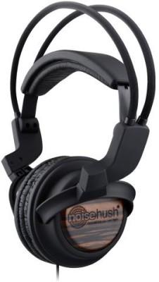 Noisehush Nx22R-12447 3.5Mm Stereo On-Ear Headphones With In-Line Mic - /Wood Headphones