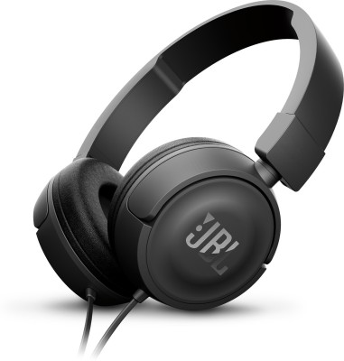 JBL T450 ON EAR HEAD PHONE Headphones(Black, On the Ear)