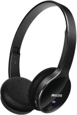 Philips SHB4000BK On-the-ear Wireless bluetooth Headphones
