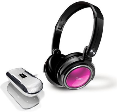 Coby Cv18523Pnk Jammerz Xtreme Deep Bass Stereo Headphones And Speakers - (Discontinued By Manufacturer) Headphones