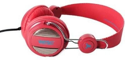 Wesc Oboe Headphone (Lingonberry) (Discontinued By Manufacturer) Headphones