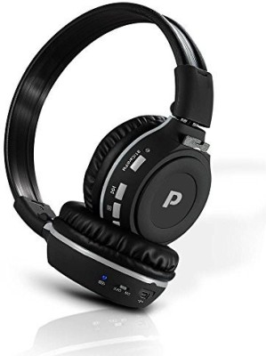 Pyle Phpmp39 - Over Ear Wireless Bluetooth Sd Headphones - Features Hands Free Calling With Built In Mic, Sd Reader Wired bluetooth Headphones