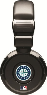 Ihip Official Mlb - Seattle Mariners - Noise Isolation Pro Dj Quality Headphone With Detachable Cord And Built-In Microphone With Headphones