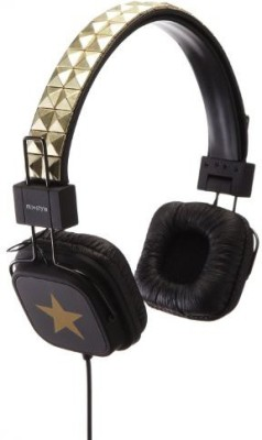 Mixstyle Studs Headphone Star Gold Sh007 Mixstyle Studs Headphone Star Sh007 Headphones(Black)