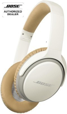 Bose SoundLink Around Ear II over the ear Wireless bluetooth Headphones(White, Over the Ear)