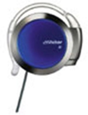 JVC Victor Armless Stereo Headphones | Hp-Al202-Za Gunmetallic & Blue (Japanese Import) Headphones
