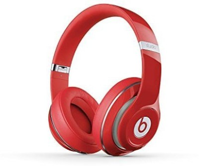 Beats Studio 2.0 Wi Over-Ear - (Certified Refurbished) - Wi Headphones(Red)