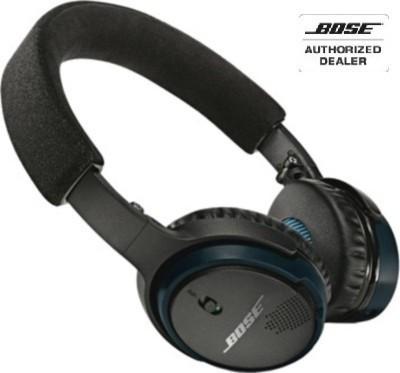 Bose SoundLink On Ear over the ear Wireless bluetooth Headphones(Black & Blue, On the Ear)