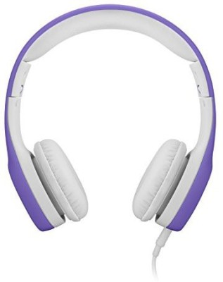 Lilgadgets Connect+ Volume Limited Wi Headphones With Shareport For Children (Purple) Headphones