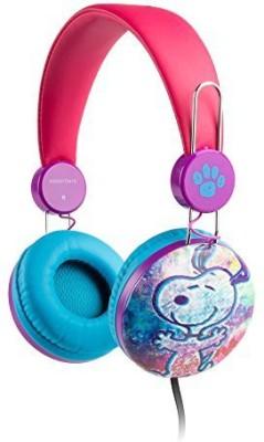Sakar Over The Ear Kids Safe Headphones (Peanuts) Headphones