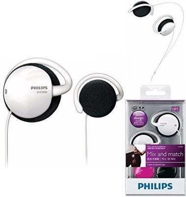 Philips Earclip Headphones Shs3800 Wired Headphones