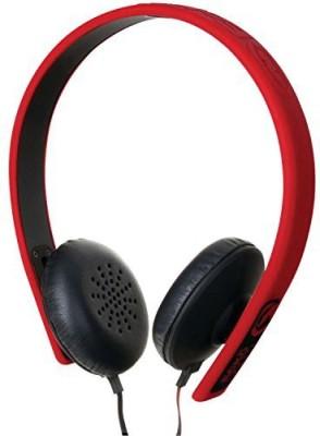 Ecko Eku-Fsn-Rd Fusion Stereo Headphones With Inline Microphone And Controls Headphones